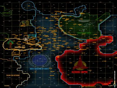 star trek karte Thanatos Orden   Fotoalben: Karte   I   Star Trek Universum